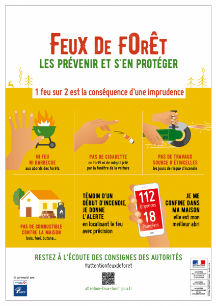 prevention feux de forets