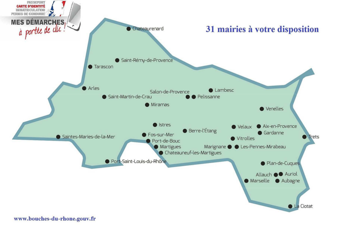 Carte d 39 identit vos d marches voluent a la une for La bouche du rhone