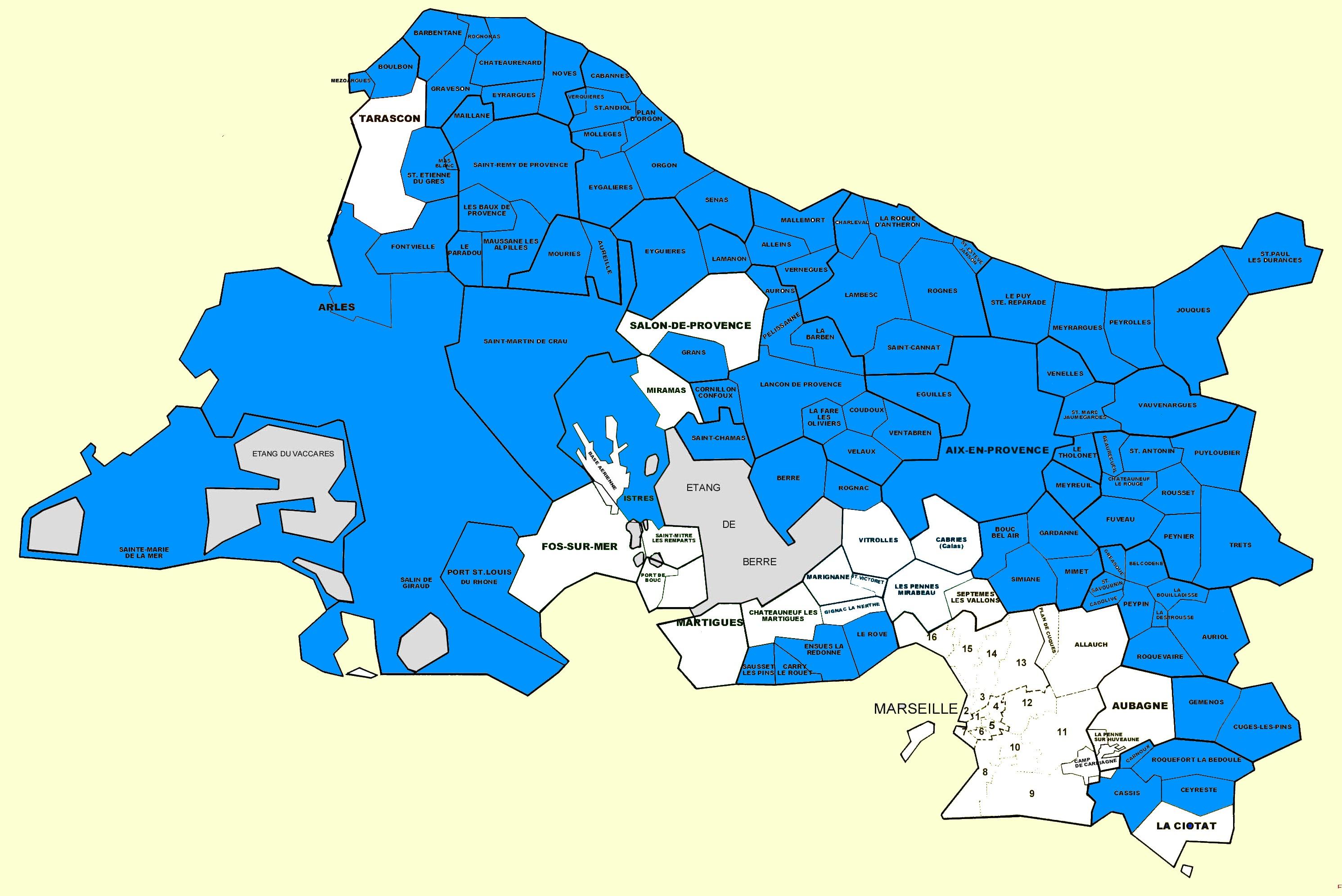 Couverture Territoriale Des Brigades De Gendarmerie